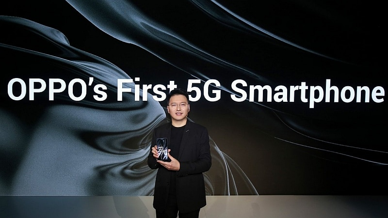 Oppo 5G Smartphone Powered by Snapdragon 855 SoC Announced at MWC 2019