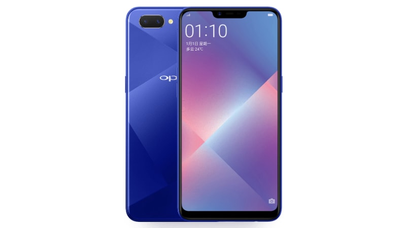 Oppo A5 With 19:9 Display, Dual Rear Camera Setup Launched in India, Priced at Rs. 14,990