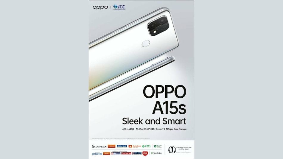 Oppo A15s Design, Specifications Spotted in Leaked Poster