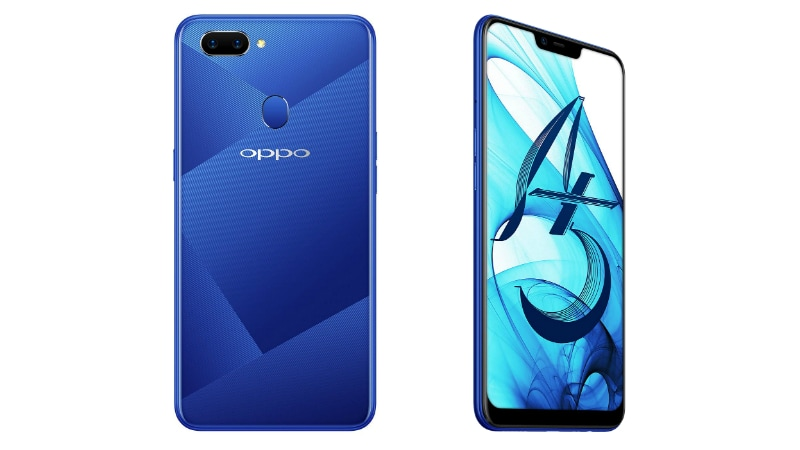 2445eaf05 Oppo A5 64GB Storage Variant Launched in India  Price ...