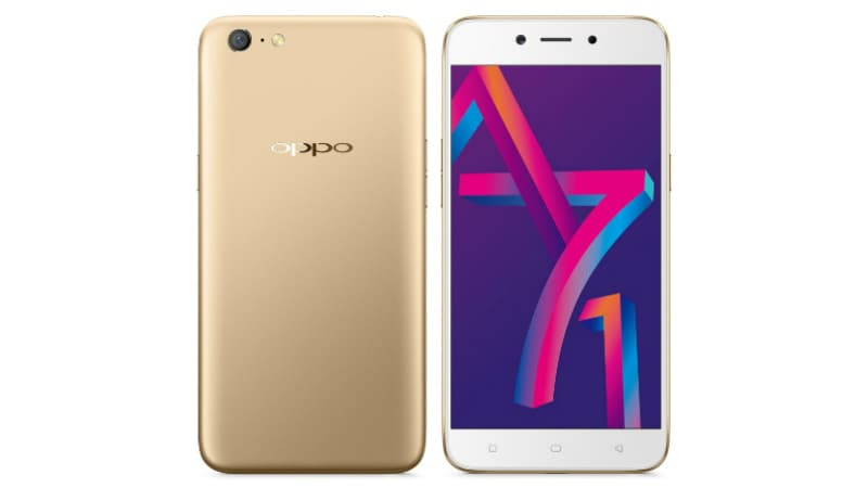 Oppo A71 (2018) With AI-Powered Selfie Experience Launched in India: Price, Specifications