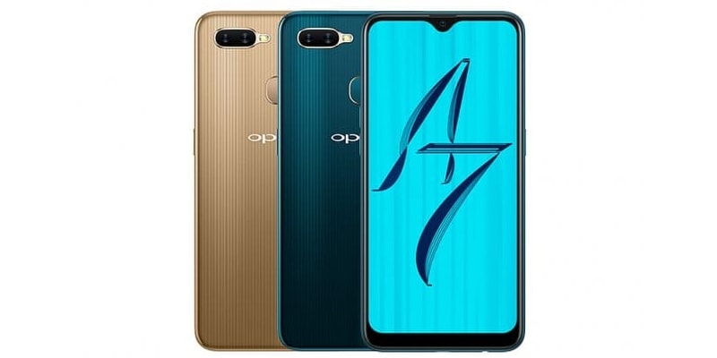 oppo a7 colours oppo