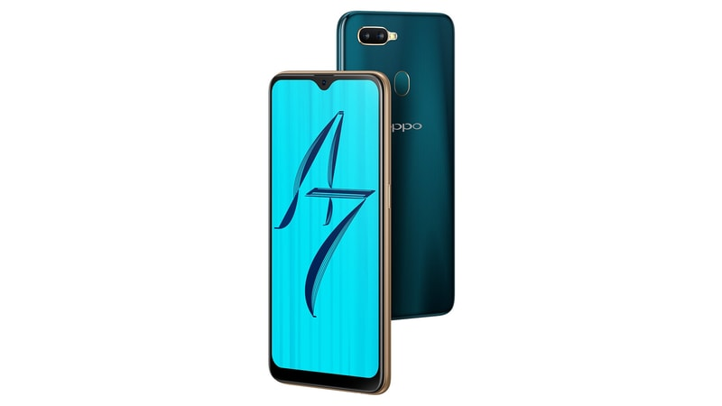 Oppo A7 with 4230mAh battery announced in India