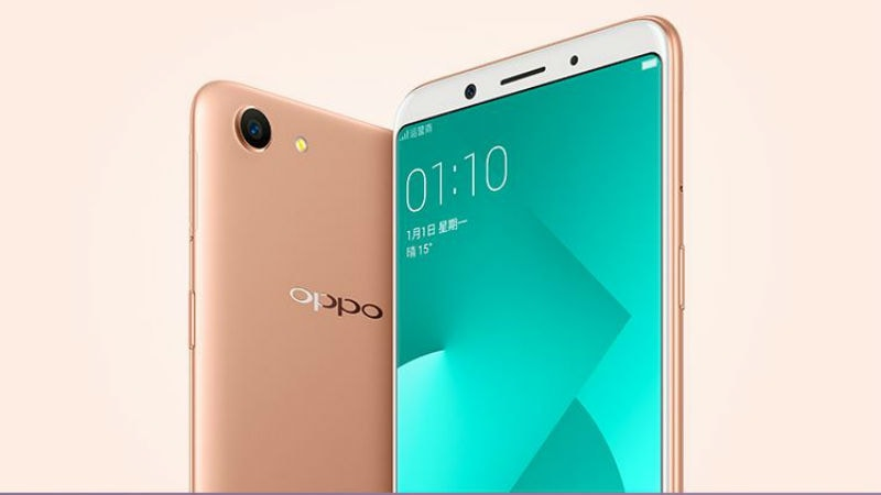 Oppo A83 With 5 7 Inch 18 9 Display Face Unlock Feature Launched