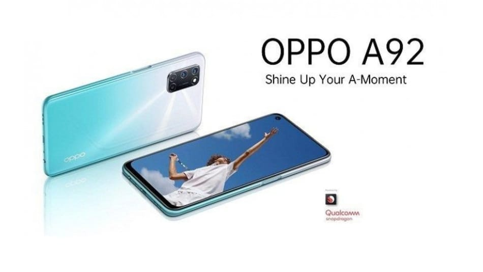 Oppo A92 Price, Specifications, Renders Leaked On Retail Site