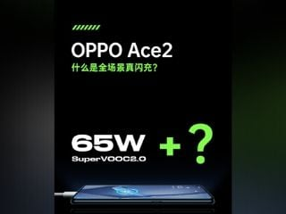 Oppo Ace 2 Confirmed to Support 65W Fast Charging, Wireless Charging Support Hinted