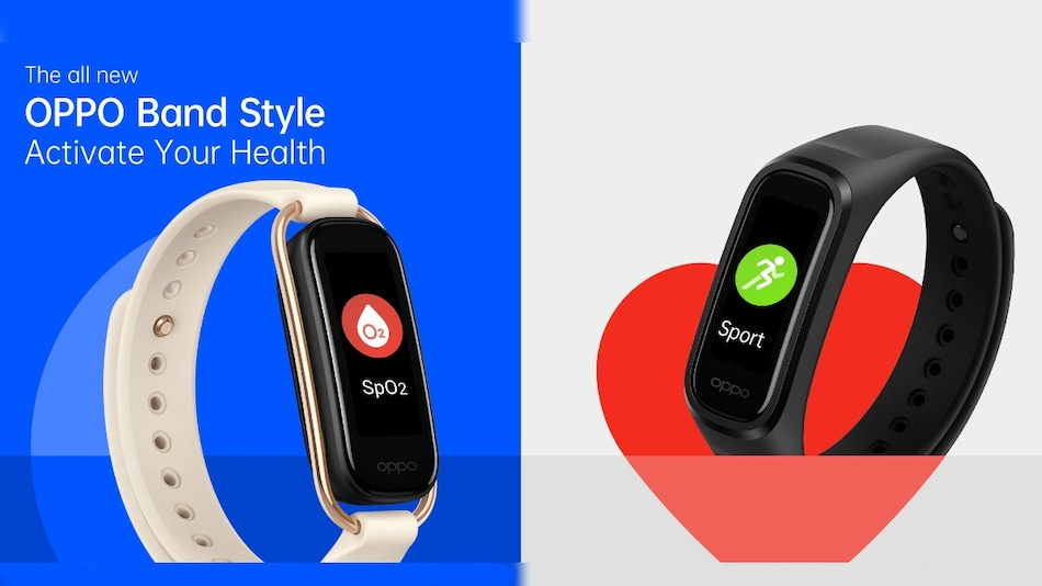 Oppo Band Style With Real-Time Heart Rate, Continuous SpO2 Monitoring to Launch in India on March 8