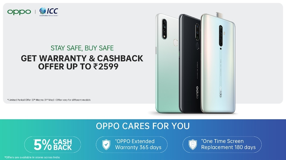 Oppo A5 2020, A9 2020, Reno 3 Pro, More Phones Listed With Cashback, Telecom Offers: All Details