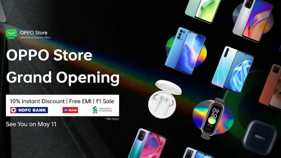 Oppo E-Store Launched in India, Brings Introductory Deals, Offers on Select Phones, Wearables