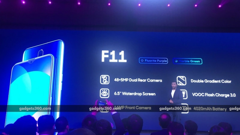 Oppo F11 Pro, Oppo F11 With 48-Megapixel Rear Camera