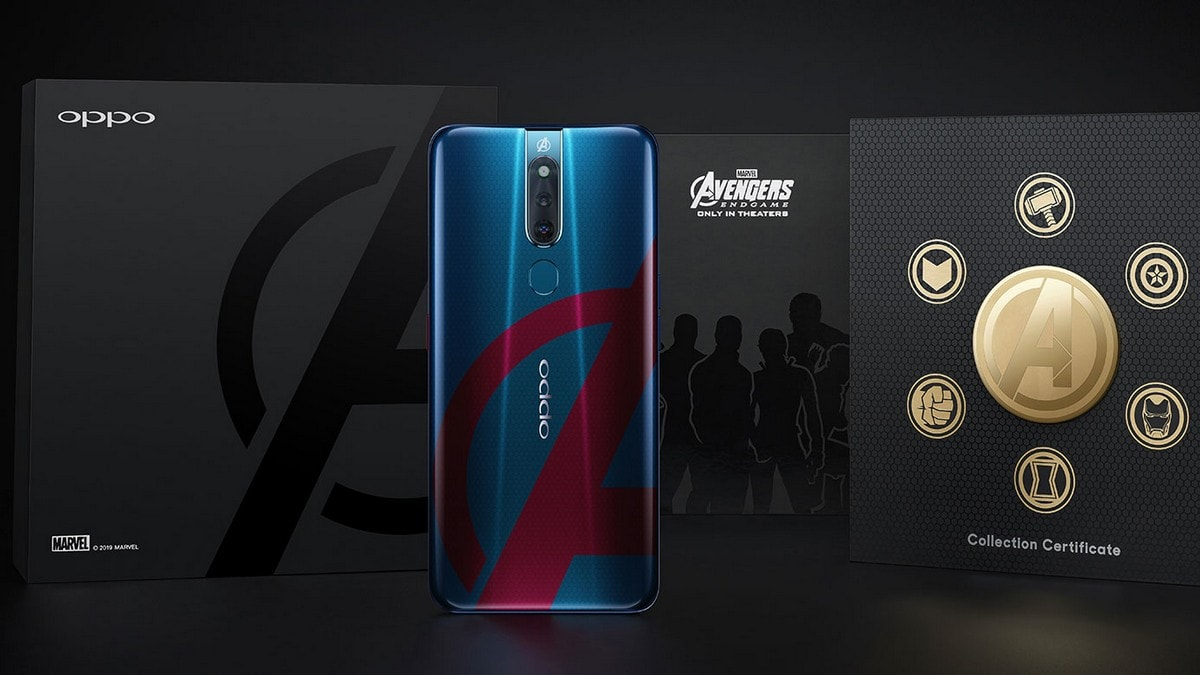 Oppo F11 Pro Marvel's Avengers Edition India Launch Set for April 26, Exclusively from Amazon