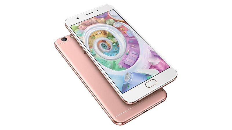 Oppo F1s Rose Gold Colour Limited Edition Goes on Sale in India via Flipkart