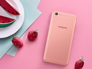 Oppo F3 Rose Gold Variant Launched in India at Rs. 19,990