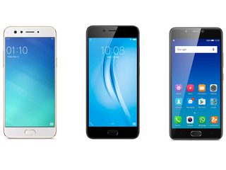 Oppo F3 vs Vivo V5s vs Gionee A1: The Best Selfie Phones Under Rs. 20,000