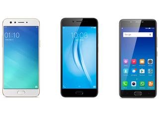 ओप्पो एफ3 बनाम वीवो वी5एस बनाम जियोनी ए1: 20,000 रुपये से कम में बेहतर सेल्फी फोन कौन?