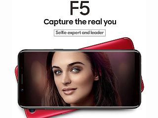 OPPO F5 : Get your selfie game up.