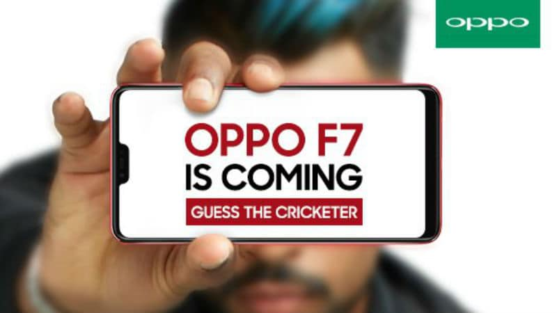 Oppo F7 With Full-Screen Display and iPhone X-Like Notch to Launch in India on March 27