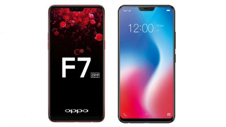 Oppo F7 और Vivo V9 में कौन है बेहतर सेल्फी स्मार्टफोन?