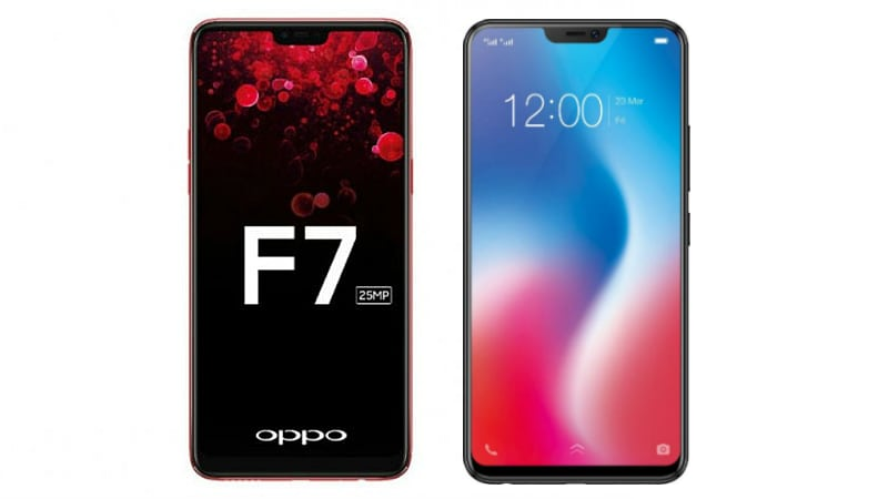 Oppo F7 vs Vivo V9: Price in India, Specifications, Features