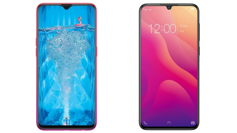 Oppo F9 Pro vs Vivo V11: Price in India, Specifications
