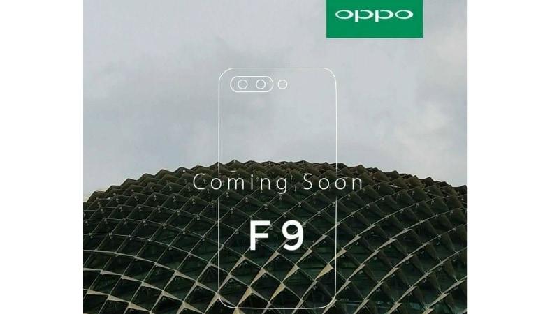 oppo f9 teaser dealntech Oppo F9