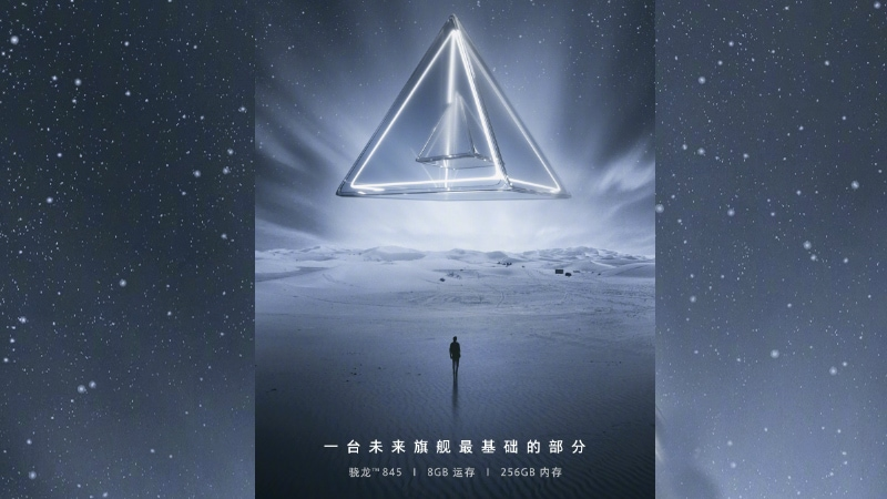 Oppo Find X Teaser Tips 8GB RAM, Snapdragon 845 SoC, 256GB Storage