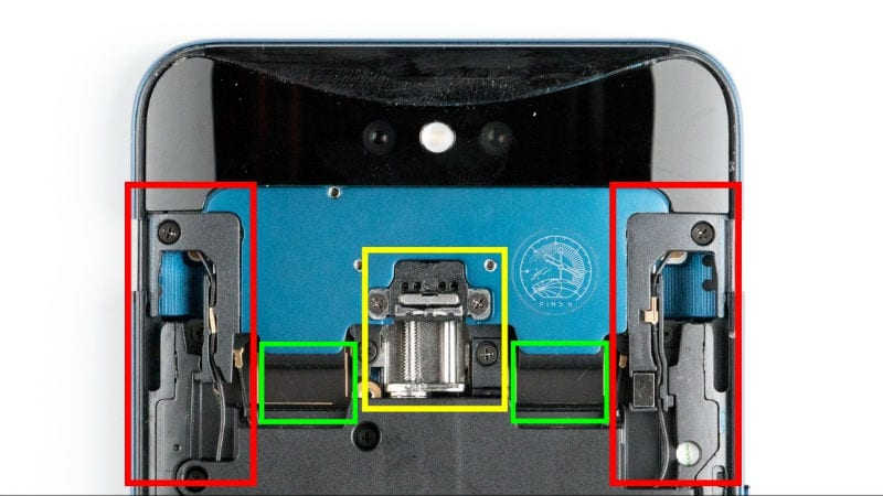 Oppo Find X Teardown Shows How the Camera Slider Works