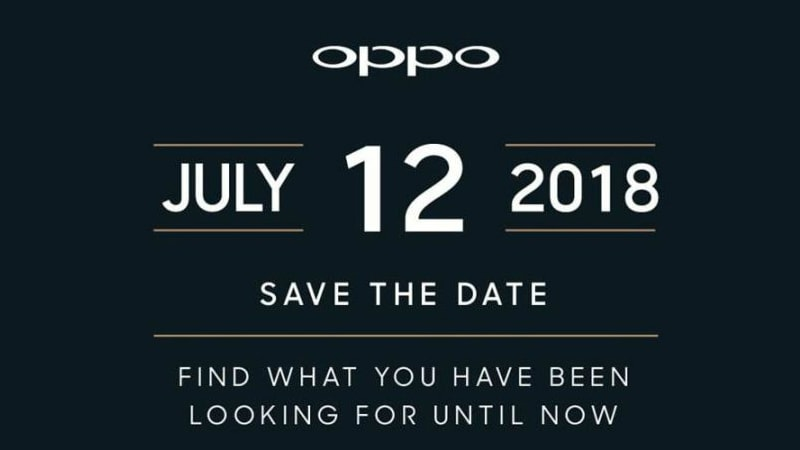 Oppo Find X India Launch Set for July 12, Gets Revealed Ahead of Global Launch Today