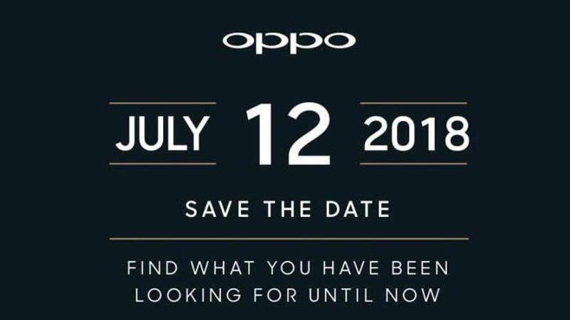 Oppo Find X 12 जुलाई को लॉन्च होगा भारत में