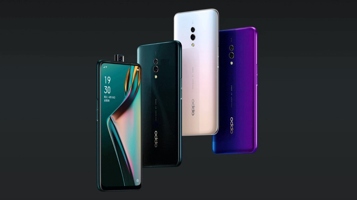 oppo k3 colour variants Oppo K3