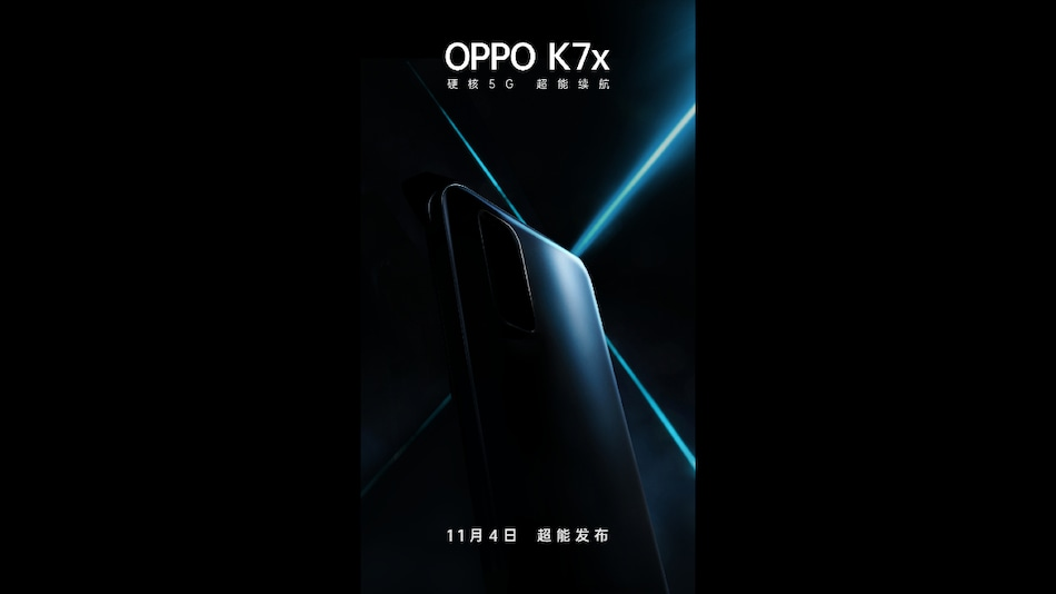 Oppo K7x With 5G Support Set to Launch on November 4: Expected Specifications