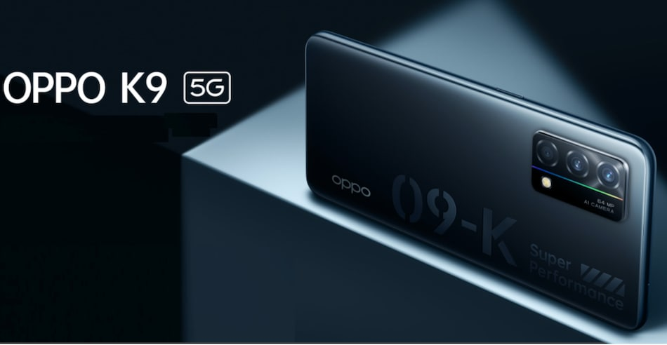 Oppo K9 5G With Snapdragon 768G SoC, 65W Fast Charging Support Listed on Official Site Ahead of Launch