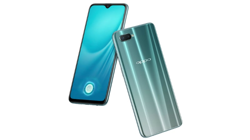 Oppo R15x With In-Display Fingerprint Sensor, Dual Rear Cameras Launched