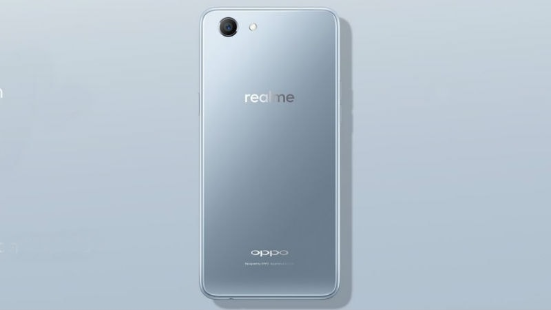Realme 1 Silver Limited Edition With 4GB RAM Will Go on Sale on June 18