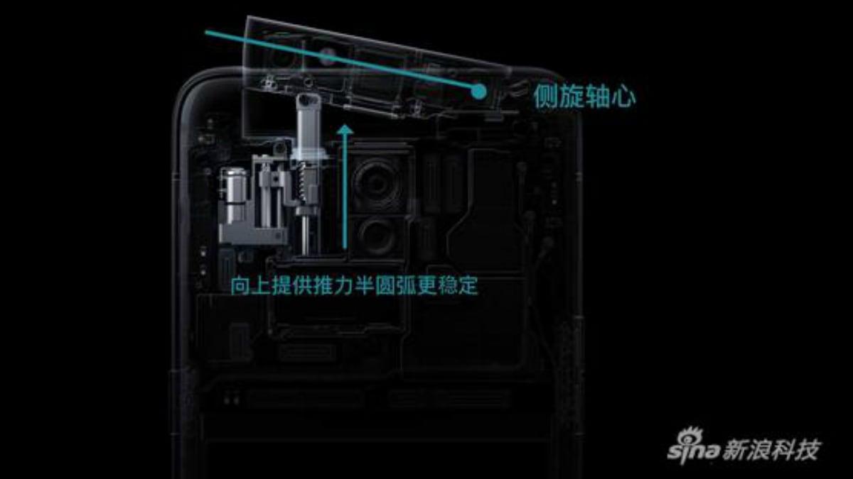 oppo reno 10x zoom edition selfie camera module weibo Oppo Reno 10x Zoom Edition