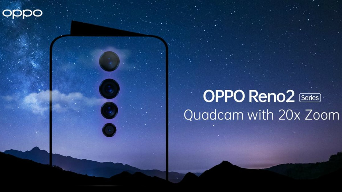Oppo Reno 2 to Sport Snapdragon 730G SoC, 4,000mAh Battery; Colour Options Confirmed Ahead of Launch