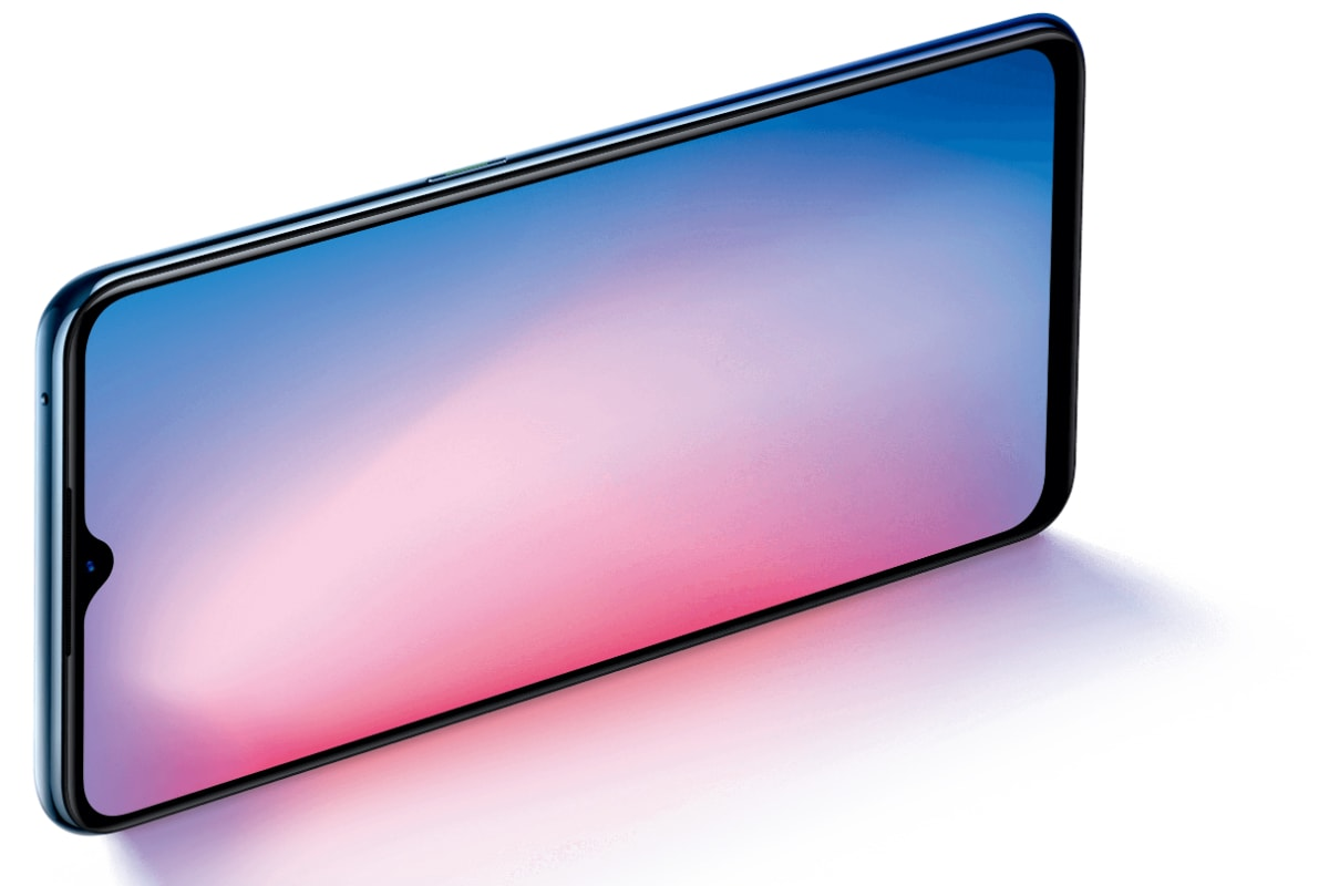 Oppo Reno 3 4g Model With Quad Rear Cameras Waterdrop Style Notch