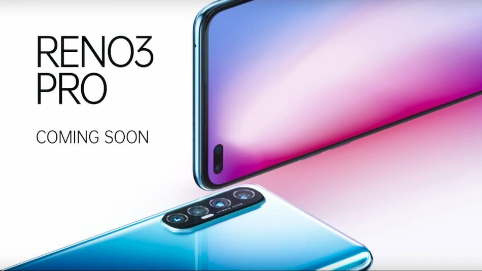 Oppo Reno 3 Pro India Launch on March 2, Will Feature 44-Megapixel Dual Hole-Punch Selfie Cameras