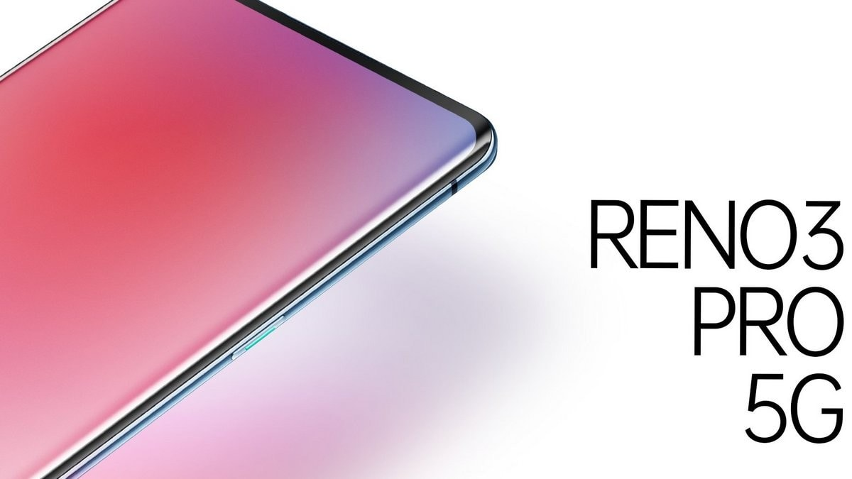 Oppo Reno 3 Pro 5G Official Teaser Image Shows Curved Display, Glass Body