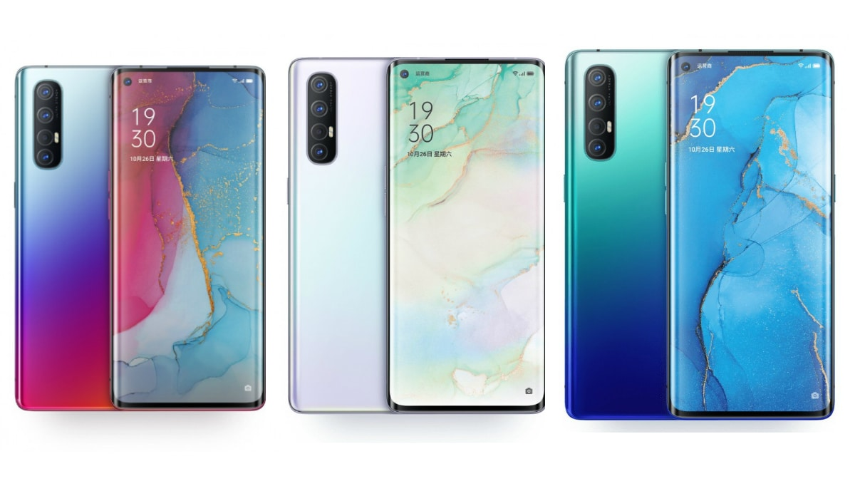 Oppo Reno 3 Pro Official Site Listing Reveals RAM, Storage, and Colour Options