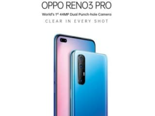 டூயல் செல்ஃபி கேமராவுடன் வருகிறது Oppo Reno 3 Pro!