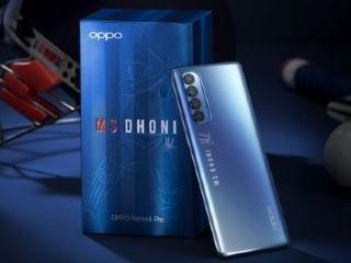 Oppo Reno 4 Pro अब नए अवातर में, महेंद्र सिंह धोनी के ऑटोग्राफ के साथ