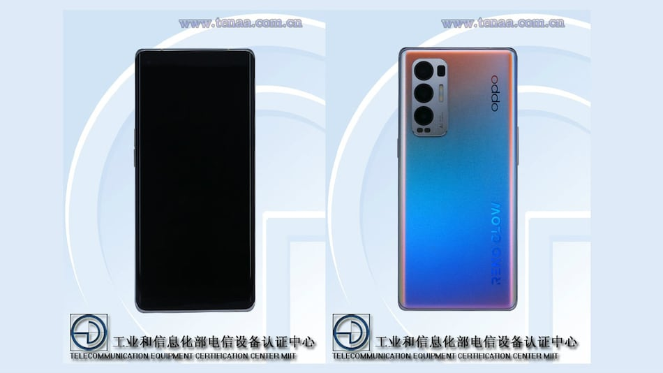 Oppo Reno 5 Pro+ Specifications and Design Tipped by TENAA, Geekbench Listings