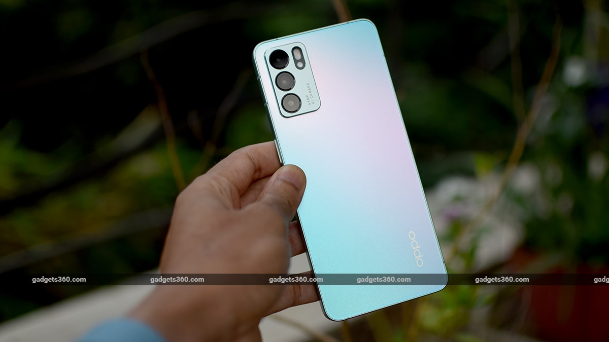 oppo reno 6 review back gadgets 360 ww