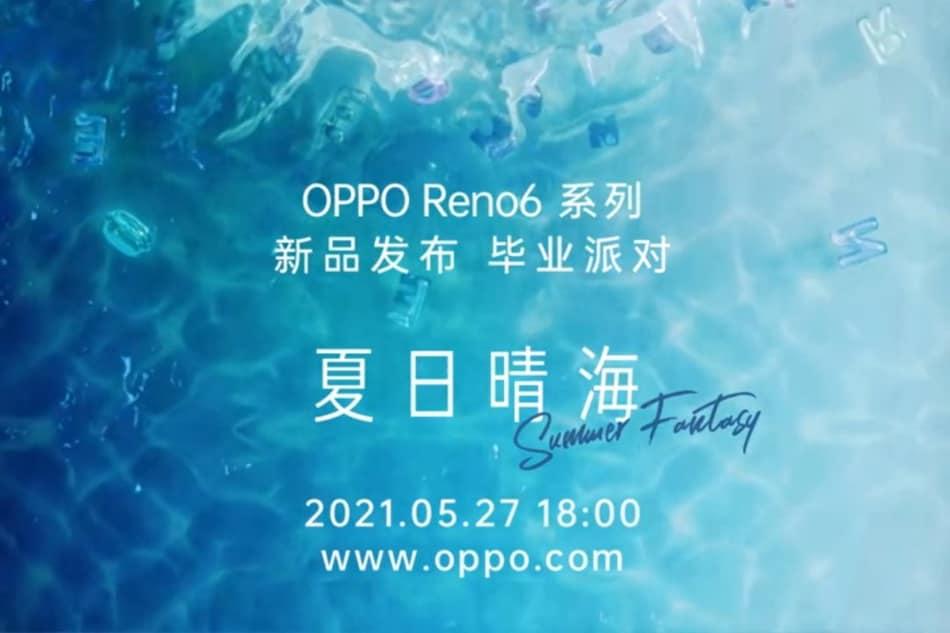 Oppo Reno 6 सीरीज़ 27 मई को होगी लॉन्च, इन खूबियों से हो सकती है लैस