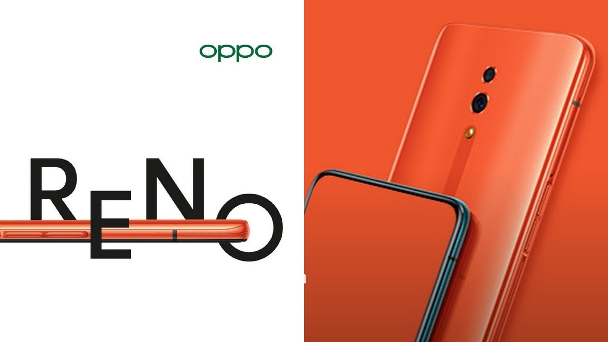 Oppo Reno Orange Variant Officially Confirmed to Launch on May 30, Teaser Image Provides First Look at the Upcoming Phone
