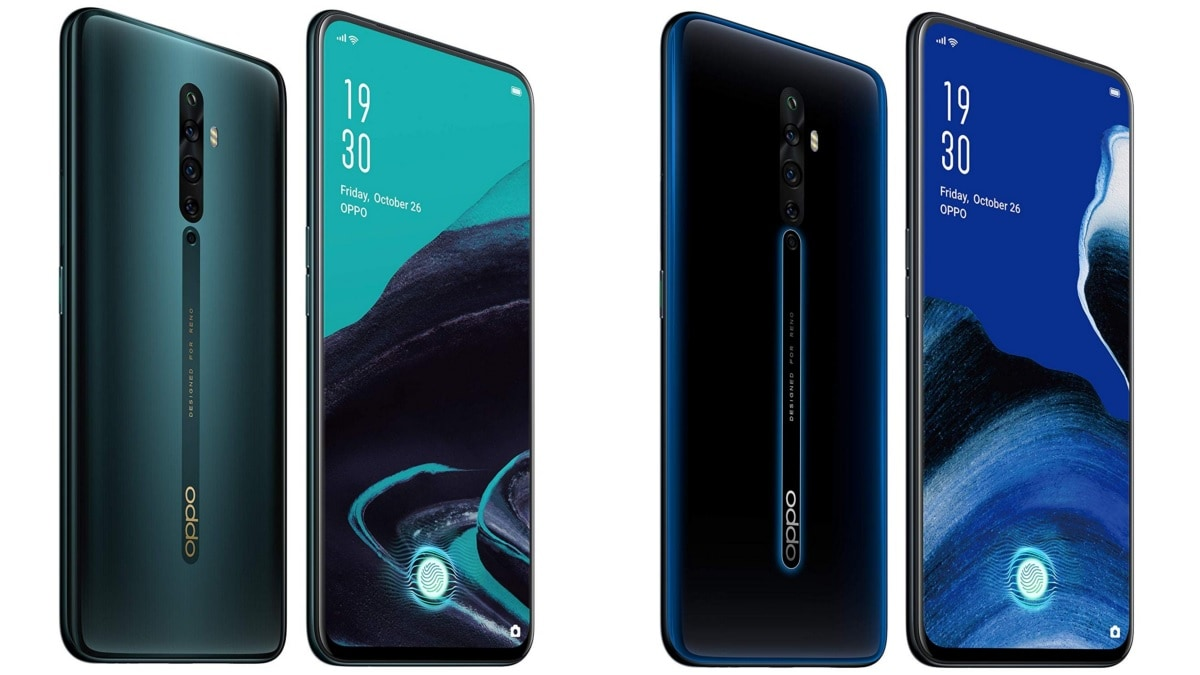Oppo Reno 2Z, Reno 2F Price in India Cut, Now Start at Rs. 23,990
