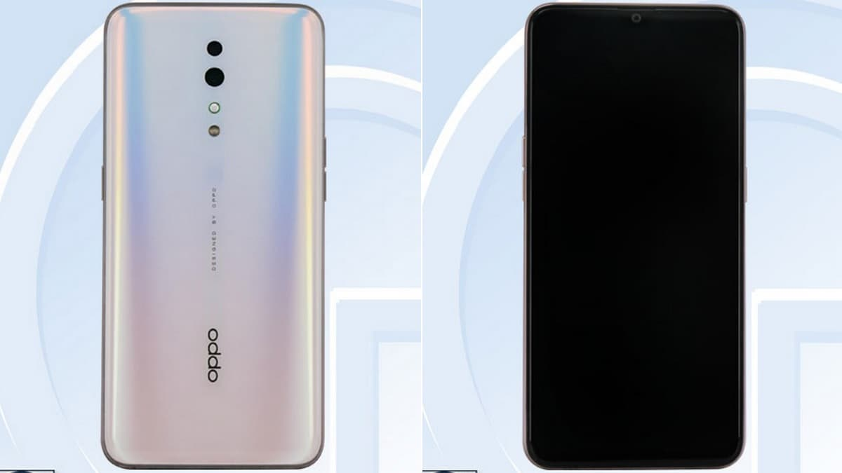 Oppo PCDM10 With Dual Rear Cameras, Gradient Finish Spotted on TENAA, Rumoured to Be a Part of Reno Series
