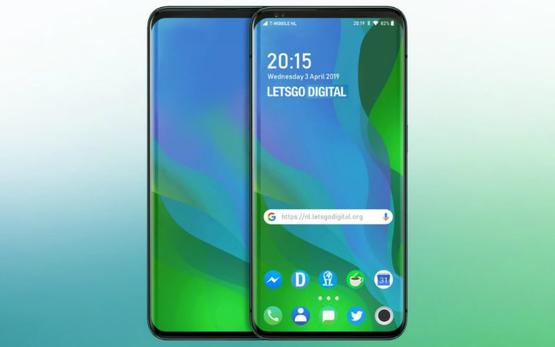 Oppo's latest pop-up screen smartphone patent is wild