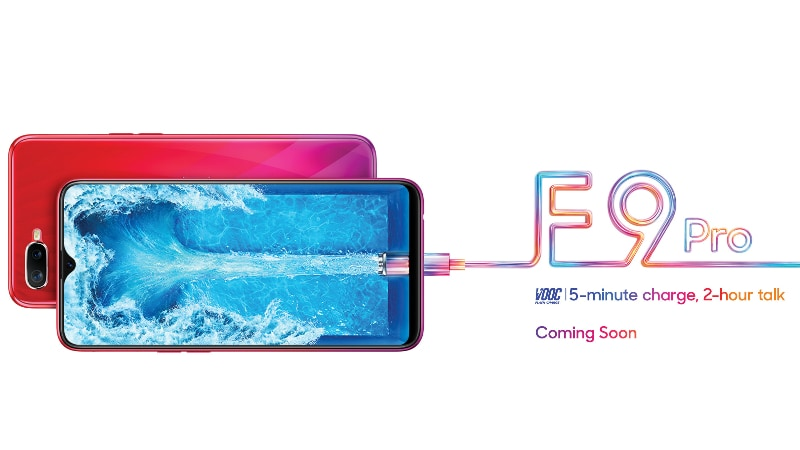 Oppo F9 Pro Teaser Shows VOOC Fast Charging With 2 Hours of